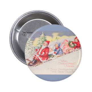 vintage-santa-christmas-post-cards-0390 pinback button