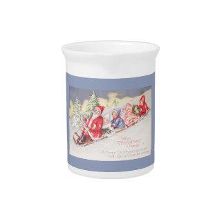 vintage-santa-christmas-post-cards-0390 pitcher