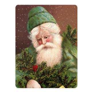 Vintage Santa Claus 10 Card