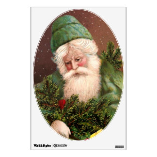 Vintage Santa Claus 10 Wall Sticker