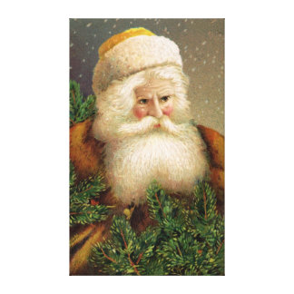 Vintage Santa Claus 11 Canvas Print