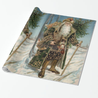Vintage Santa Claus 3 Wrapping Paper