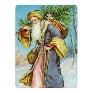 Vintage Santa Claus 4 Card