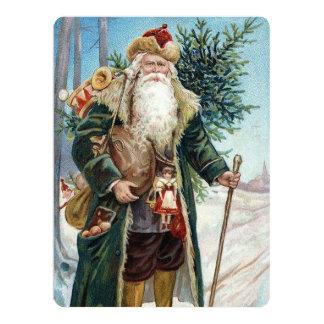 Vintage Santa Claus 6 Card