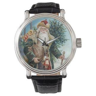 Vintage Santa Claus 6 Wristwatch