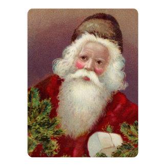 Vintage Santa Claus 7 Card