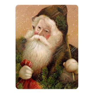 Vintage Santa Claus 8 Card