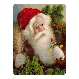 Vintage Santa Claus 9 Card