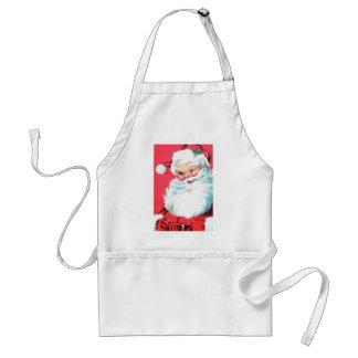 Vintage Santa Claus Adult Apron