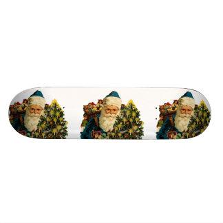 Vintage Santa Claus Bearing Gifts For Everyone Skate Deck
