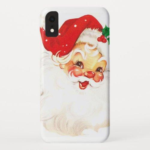 Vintage Santa  Claus iPhone XR Case