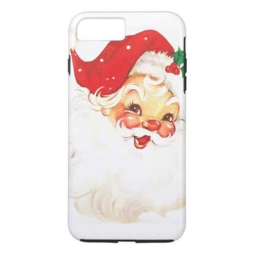 Vintage Santa Claus iPhone 8 Plus7 Plus Case