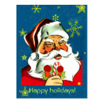 Vintage Santa Claus Christmas Cards Post Cards