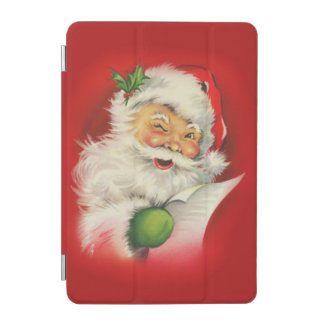 Vintage Santa Claus Christmas iPad Mini Cover