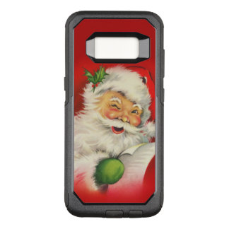 Vintage Santa Claus Christmas OtterBox Commuter Samsung Galaxy S8 Case