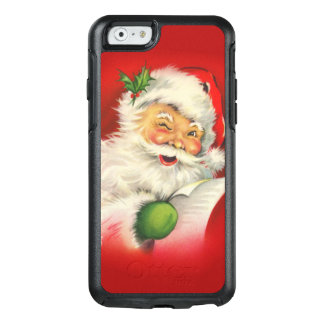 Vintage Santa Claus Christmas OtterBox iPhone 6/6s Case