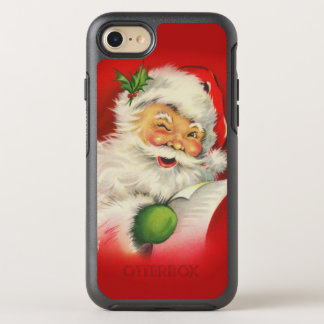 Vintage Santa Claus Christmas OtterBox Symmetry iPhone 8/7 Case