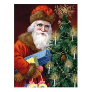 Vintage Santa Claus Christmas Postcard Post Card