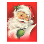 Vintage Santa Claus Christmas Postcards