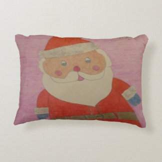 Vintage Santa Claus Decorative Pillow
