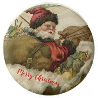 Vintage Santa Claus Dipped Oreo Holiday Cookies 12