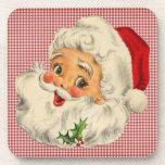 Vintage Santa Claus Drink Coaster