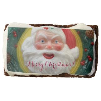 Vintage Santa Claus face Brownie