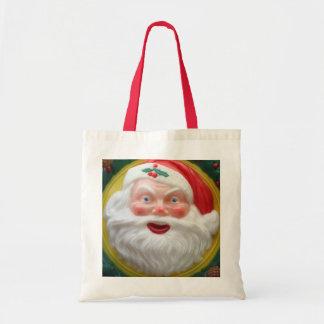 Vintage Santa Claus face Tote Bag