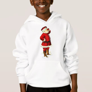 Vintage SANTA CLAUS Father Christmas Fashion Hoodie