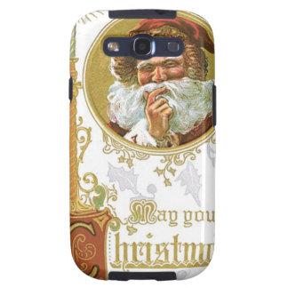 Vintage Santa Claus Galaxy S3 Case
