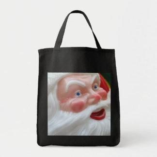Vintage Santa Claus head Tote Bag