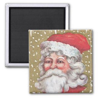 Vintage Santa Claus image Christmas magnet