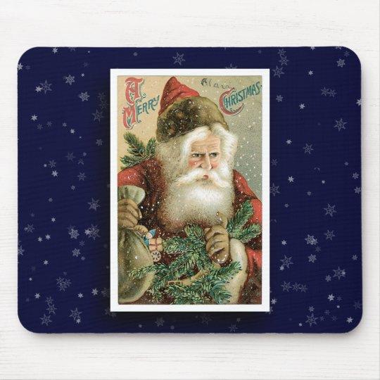 Vintage Santa Claus Image Mousepad