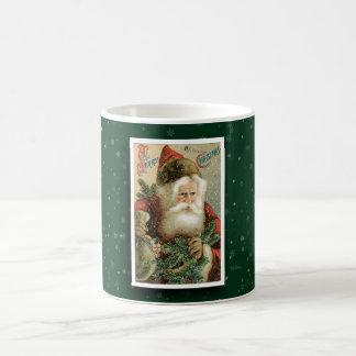 Vintage Santa Claus Image Mug
