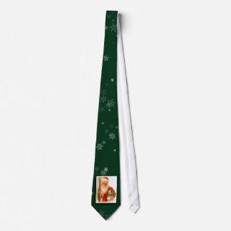 Vintage Santa Claus Image Tie