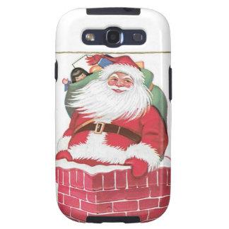 Vintage Santa Claus in Chimney Galaxy SIII Cover