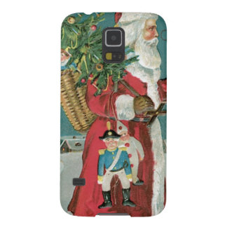 Vintage Santa Claus in the Snow Galaxy Nexus Cover