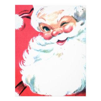 Vintage Santa Claus Letterhead