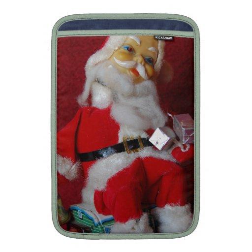 Vintage Santa Claus MacBook Air Sleeves