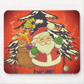 Vintage, Santa Claus Mouse Pad