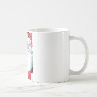 Vintage Santa Claus Classic White Coffee Mug