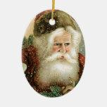 Vintage Santa Claus Ornament