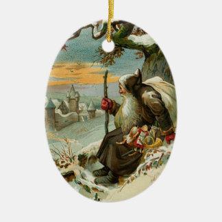 Vintage Santa Claus Ornaments