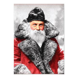 Vintage Santa Claus Photo Card
