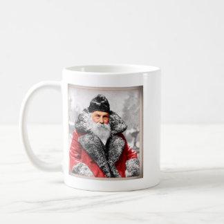 Vintage Santa Claus Photo Coffee Mug