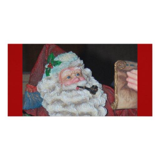 Vintage Santa Claus Picture Card