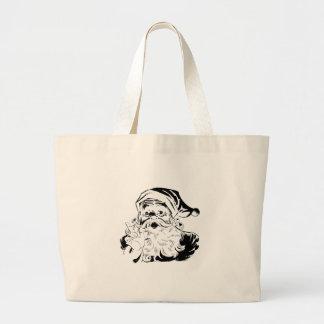 Vintage Santa Claus Portrait Shaking Finger Bag