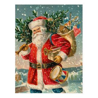 Vintage Santa Claus Post Card