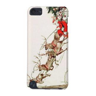 Vintage Santa Claus Reindeer Sleigh Christmas Eve iPod Touch 5G Case