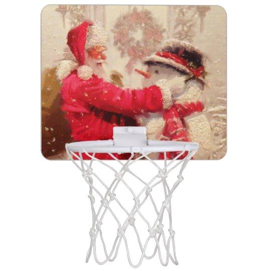 Vintage Santa Claus Snowman Christmas  9aaeeb0153